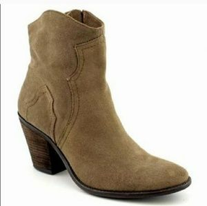 BCBGeneration Santina Suede Leather Booties size 7